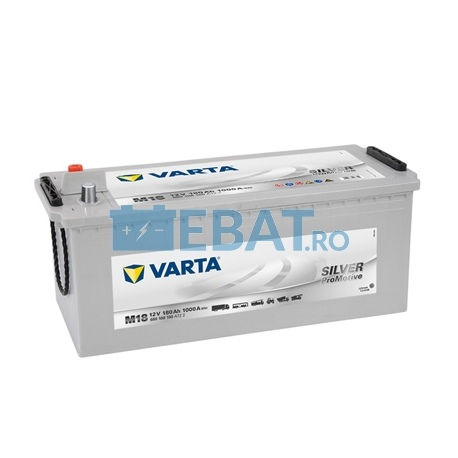 BATERIE AUTO VARTA PROMOTIVE SILVER 12V 180Ah 1000A Borna Tip camion (stanga sus +)