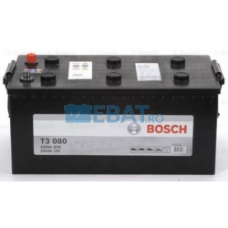 BATERIE AUTO BOSCH T3 12V 200Ah 1050A Borna Tip camion (stanga sus +)