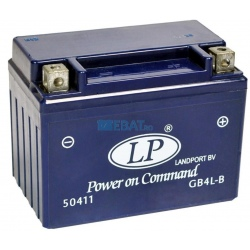 BATERIE AUTO LANDPORT GEL Power on Command - moto 12V 5Ah Borna Normala (dreapta +)