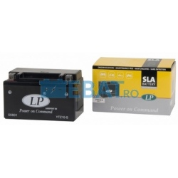 BATERIE AUTO LANDPORT SLA Power on Command - moto 12V 8.6Ah Borna Inversa (dreapta -)